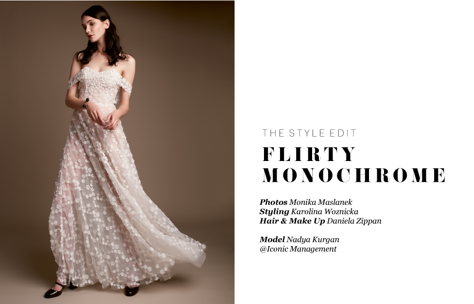 The Style Edit : Flirty Monochrome