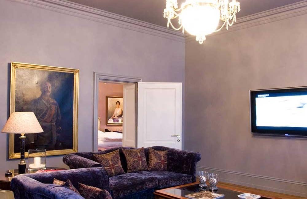 Schlosshotel Grunewald Kaiser suite 2