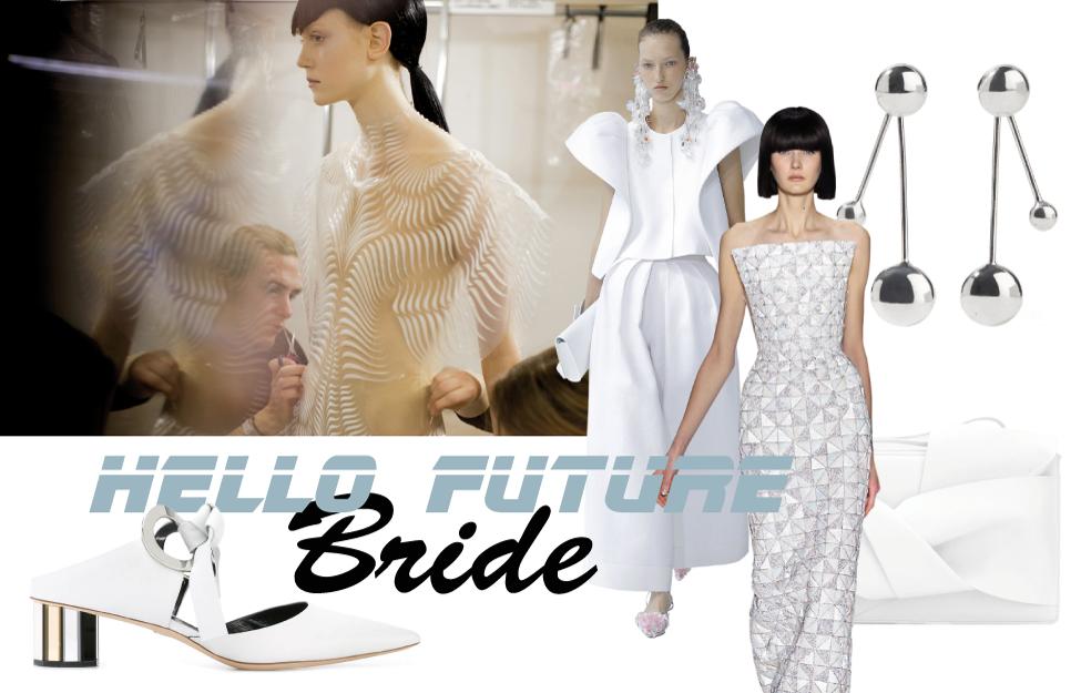 Hello Future Bride! Futuristische Brautinspirationen